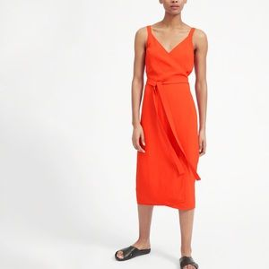 Everlane GoWeave Tank Wrap Dress